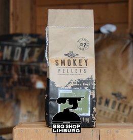 Smokey Bandit Pellet BBQ's Rookpellets Olive  1kg