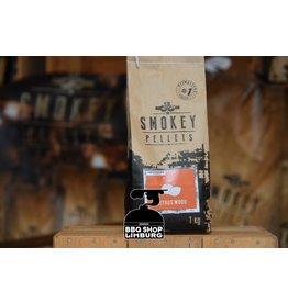Smokey Bandit Pellet BBQ's Rookpellets citrus wood  1kg