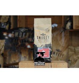 Smokey Bandit Pellet BBQ's Rookpellets peach wood  1kg