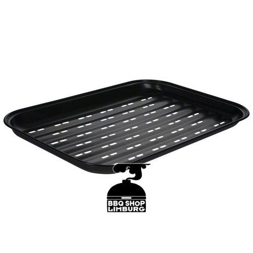 Gusta - Grillin & Chillin Gusta grillpan zwart 34,5x24,5x2,5