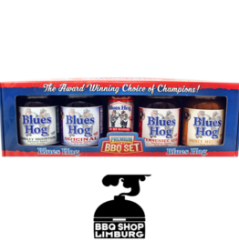 Blues Hog Blues Hog BBQ gift set - 4 sauzen & 1 rub