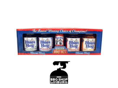 Blues Hog Blues Hog BBQ gift set - 4 sauzen & 1 rub