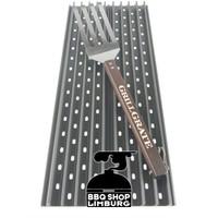 Grill Grate diverse lengtes set van 2 st + grate tool