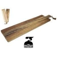 Grillin & Chilin Serveerplank acacia hout 79x19x2cm