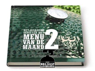 Big Green Egg Big Green Egg Menu van de Maand BBQ boek 2