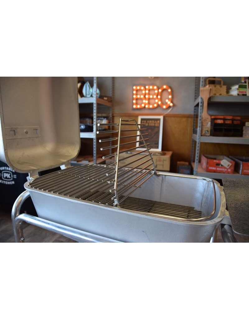 PK Grill The New PK Stainless Steel Hinged Cooking Grid