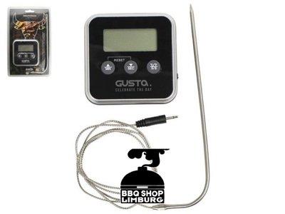 Gusta - Grillin & Chillin Gusta Digitale thermometer & kookwekker