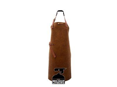 Xapron Xapron Lederen schort lang Utah Rust (L)