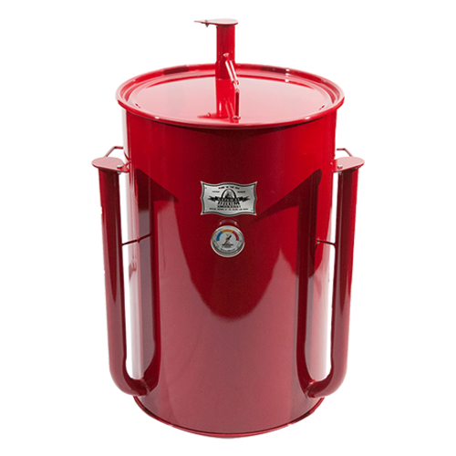 Gateway Drum Smokers Gateway Drum Smoker - Glans Rood - Logo Plate