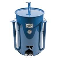 Gateway Drum Smoker - Glans Blauw - Logo Plate