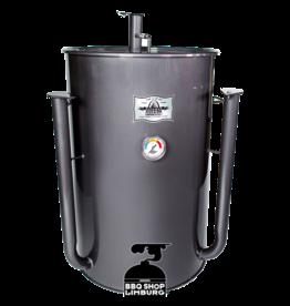 Gateway Drum Smokers Gateway Drum Smoker - Glans Grijs/charcoal - Logo Plate