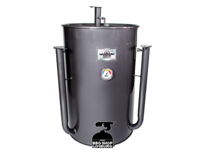 Gateway Drum Smokers Gateway Drum Smoker - Glans Grijs/charcoal - Logo Plate