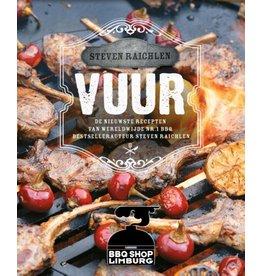 Steven Raichlen VUUR BBQ boek van Steven Raichlen