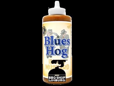 Blues Hog Blues Hog Honey Mustard BBQ Sauce 21oz (595ml) - Squeeze - knijpfles