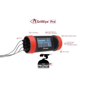 GrillEye Grilleye Pro+ Wifi thermometer