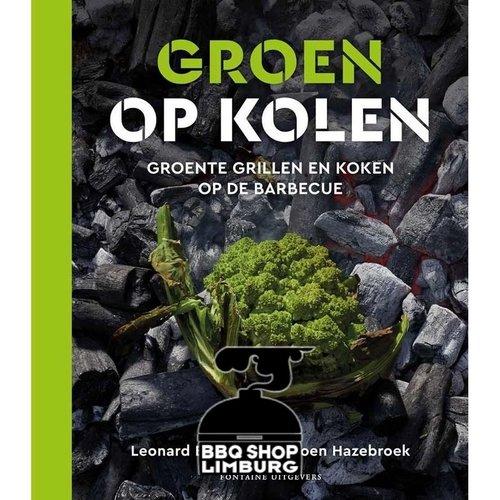 Fontaine Uitgevers B.V. Groen op Kolen - Vega(n) BBQ Boek