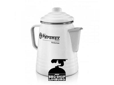 Petromax Petromax Perkomax Percolator emaille zwart/wit