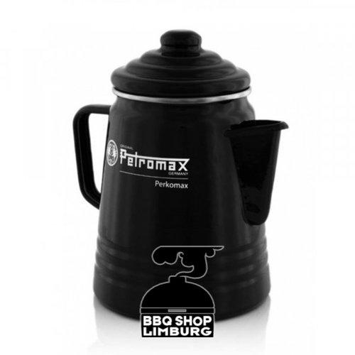 Petromax Petromax Perkomax PePetromax Pekomax Percolator emaille zwart/wit rcolator emaille Zwart