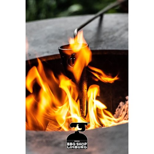 Forged Churrasco Forged Flambadou - flamberen is vet!