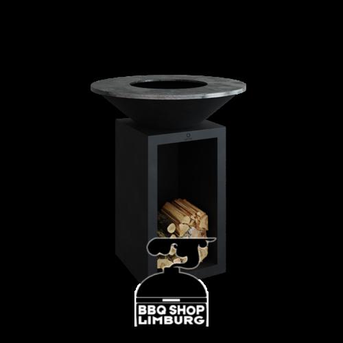Ofyr OFYR Classic Storage Black 85cm - vuurschaal