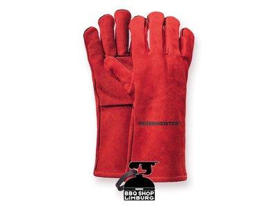 Feuermeister Feuermeister Lederen BBQ handschoenen (paar)