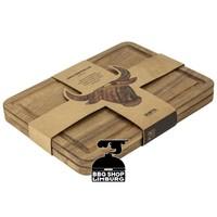 Gusta Steakborden acacia hout 28X20X1,5cm (2st)