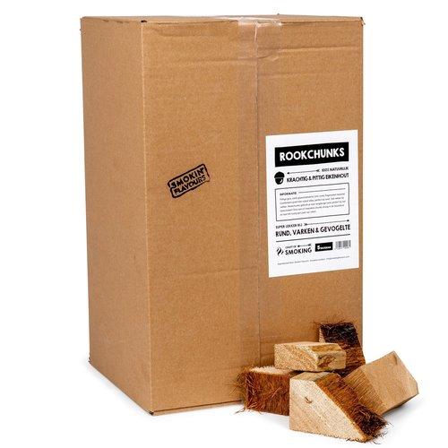 Smokin Flavour Smokin flavours chunks 5kg - diverse soorten rookhout