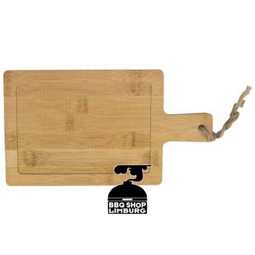 Gusta - Grillin & Chillin Gusta Serveerplank bamboe hout 14x25cm