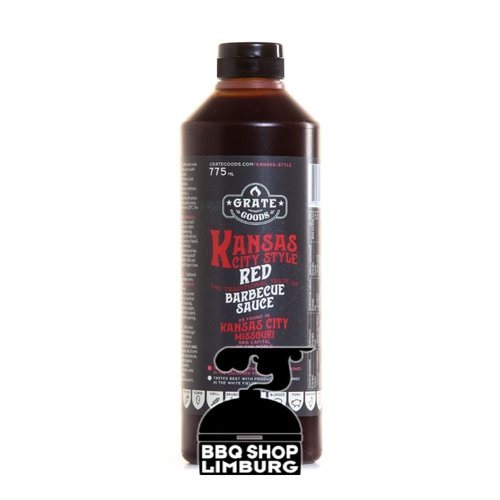 GrateGoods Grate Goods Kansas City Red Barbecue Sauce 775 ml