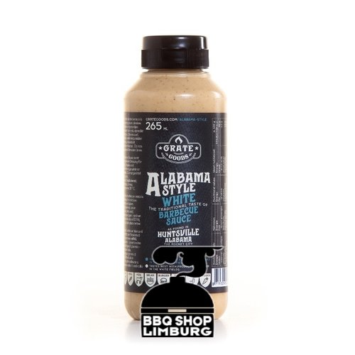 GrateGoods Grate Goods Alabama White Barbecue Sauce 265 ml