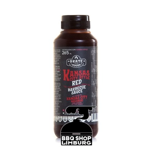 GrateGoods Grate Goods Kansas City Red Barbecue Sauce 265 ml
