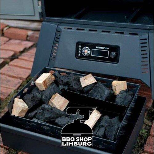 "MasterBuilt Masterbuilt 40"" digitale houtskool cabinet smoker"