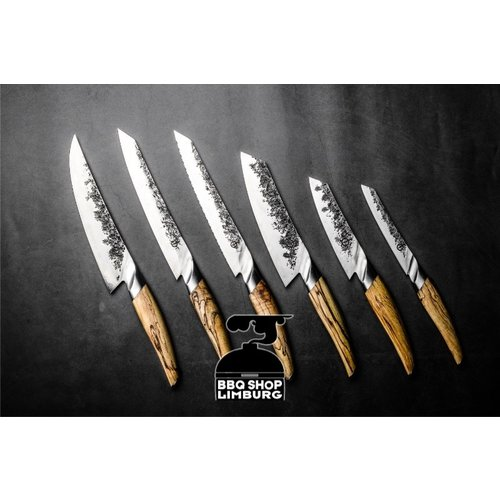 Forged Katai Forged Butcher mes 25,5cm VG10 staal