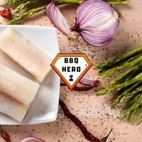KABELJAUWPAKKETJES MET GROENE ASPERGES - BBQ RECEPT - BBQ HERO