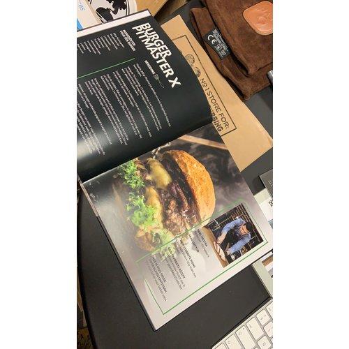 Grill en maak het verschil - BBQ kookboek - RT Nederland & Make a Wish