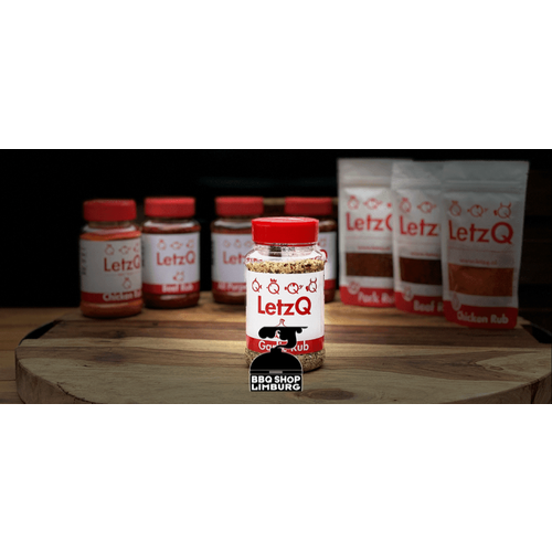 LetzQ LetzQ Chicken - Beef - Pork - All Purpose - Garlic - BBQ Rub Pot