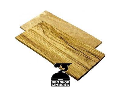 Smokin' Flavours Smokey Olive wood BBQ plank 22x110x0,8cm 2st