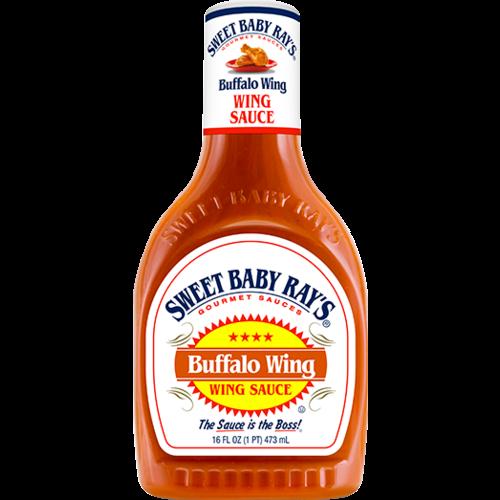 Sweet Baby Ray's Sweet baby Ray's Buffalo Wing sauce 473ml  -50% korting T.H.T 22-10-21