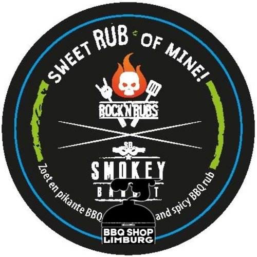 Rock'n rubs Rock'n rubs - sweet rub of mine!- BBQ rub -170g