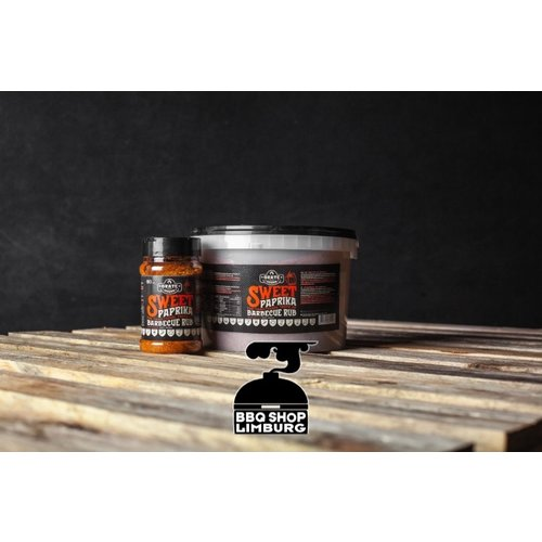 GrateGoods Grate Goods Sweet Paprica Premium BBQ rub  - emmer 2,2kg