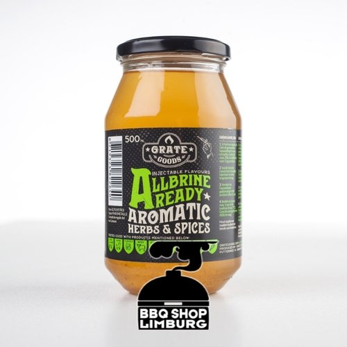 GrateGoods AllBrine Ready Aromatic Herbs & Spices Pot 500g