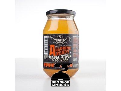 GrateGoods AllBrine Ready Maple & Bourbon Pot