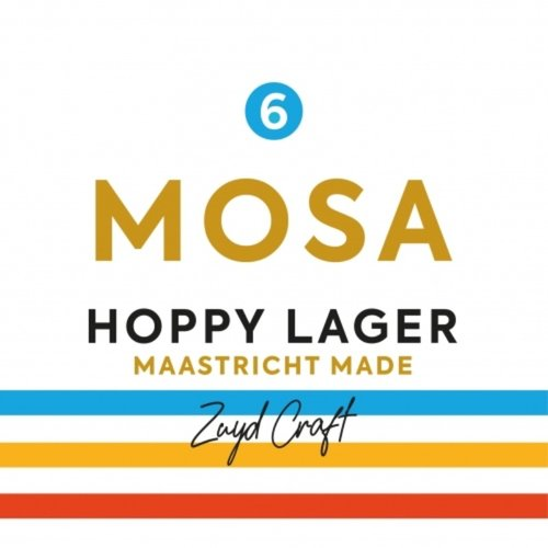 Zuyd Crafts Brouwerij Zuyd - Mosa 6 - Hoppy Lager 33cl