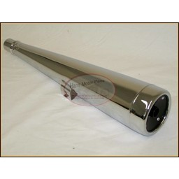 CX500 Exhaust Silencer/Muffler Left hand Replica New