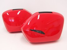 VFR800 VTEC Pannier Set  2002-2005 Winning Red R-258