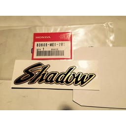 HONDA VT700C/VT750C Shadow Zijkap Sticker Honda 1983-1985
