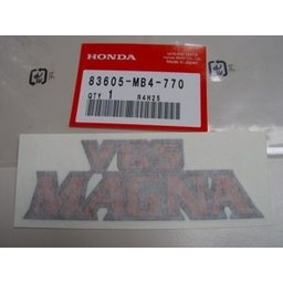VF1100C Magna Seiten Verkleidung Aufkleber Honda V65