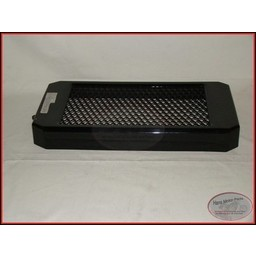 HONDA VT1100C Shadow Radiateur Cover zwart vanaf 1988-1994