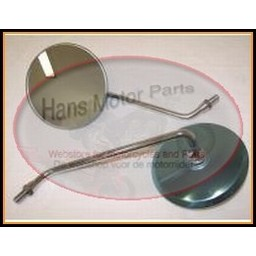 CB400 FOUR Mirrorset chrome Replica New