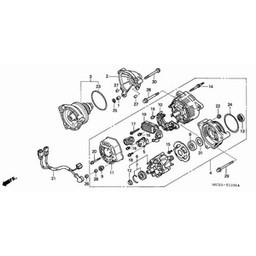 ST1300 Pan European Generator OEM Part